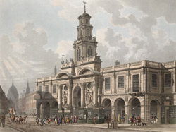 A View of the Royal Exchange Cornhill
